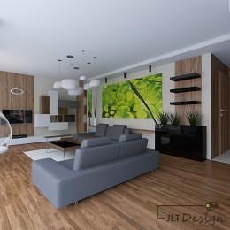 Projekt wnętrza apartamentu blisko centrum miasta - 3
