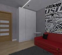 Pojemna, białą szafa to funkcjonalne rozwiązanie dla zachowania przestrzeni w e wnętrzu.