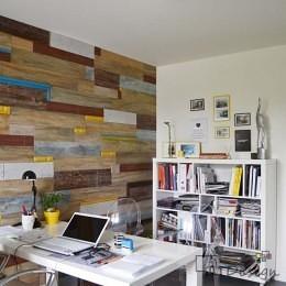 Kreatywna ścianka w biurze