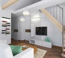 Przytulne dwupoziomowe mieszkanie