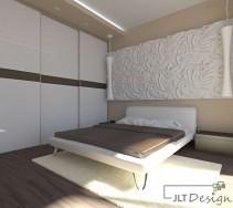Zabudowana szafa w sypialni