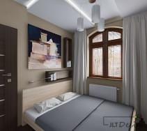 Przytulna aranżacja sypialni