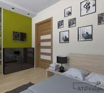Żywe kolory w sypialni