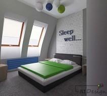 Bajkowa sypialnia