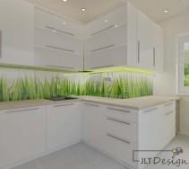 Dodatek w postaci trawy, który ożywia kuchnię