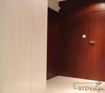 Widoczne przejście do prywatnej części mieszkania