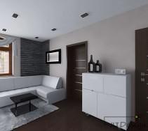 Kontrastowe kolory podłóg i ścian