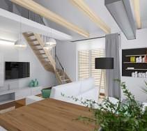 Aranżacja dwupoziomowego mieszkania