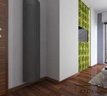 Projekty i aranżacje wnętrz - Sypialnie. Żywe kolory w sypialni.