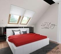 Nowoczesna sypialnia z kryształowymi żyrandolami i białym łóżkiem