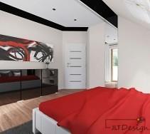 Podwieszane sufity w sypialni