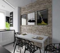W aranżacja wnętrza kuchni zwrócono uwagę na szczegóły