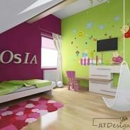 Projektując pokoje dziecięce…