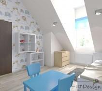 Projekty i aranażcja wnętrz pokojów dziecięcych