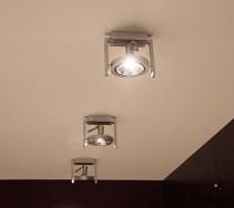Punktowe oświetlenie korytarza