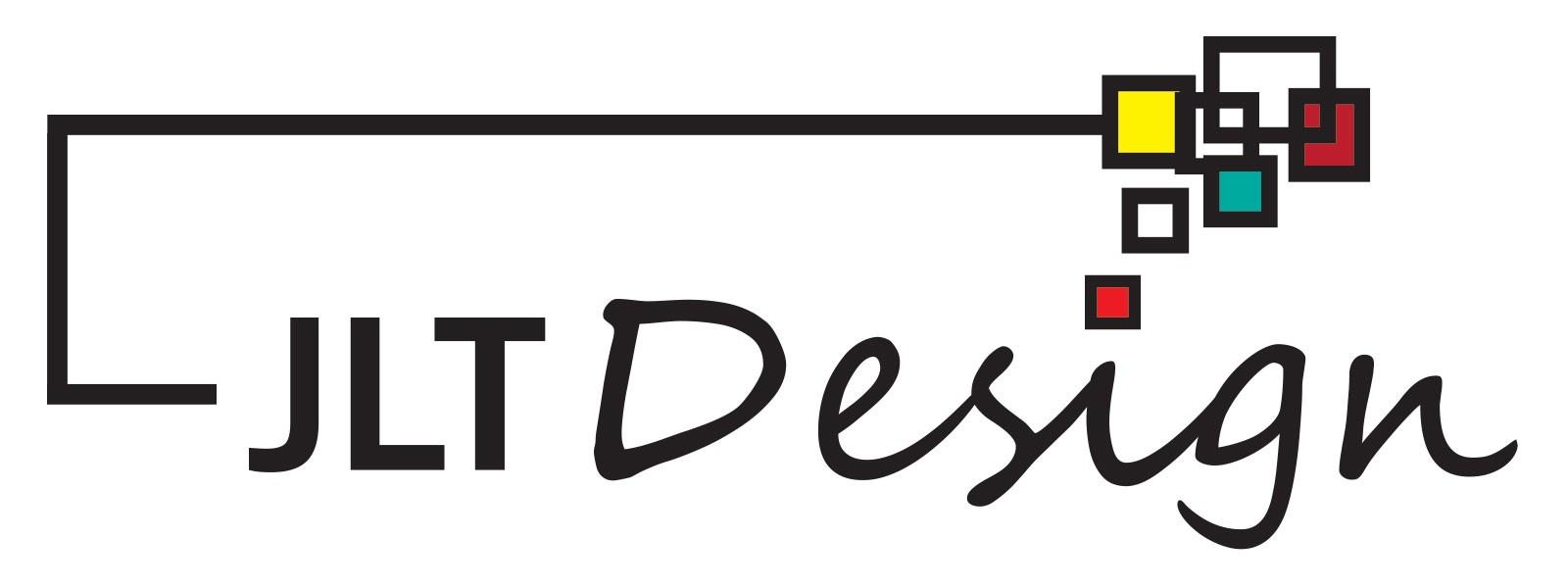 Logo JLT Design na białym tle (plik JPG, rozmiar 1600x600)