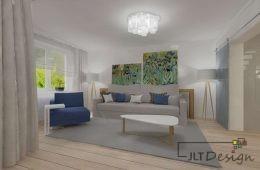 Piętrowe mieszkanie w skandynawskim przepychu