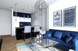 Mieszkanie w stylu glamour i NK