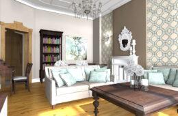 Eleganckie i klasyczne mieszkanie w kamienicy