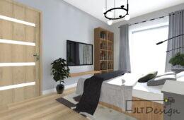 Mieszkanie z kolorowym wnętrzem i praktycznymi rozwiązaniami