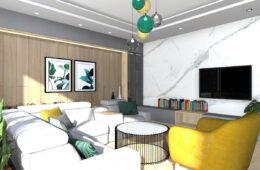 Nowoczesne i ekskluzywne wnętrze domu