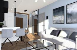 Nowoczesny apartament w dwóch odsłonach